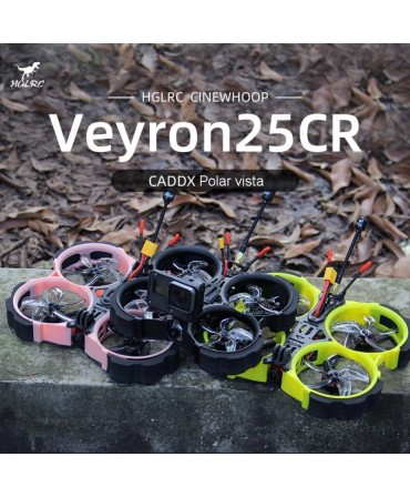 HGLRC VEYRON25CR 2,5 pouces 120mm 4S Polar vista Digital PNP