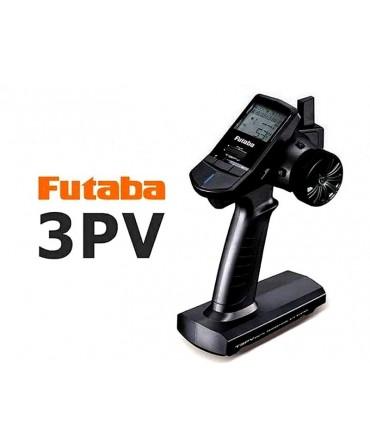 Radiocommande FUTABA 3 voies 2,4Ghz 3PV et récepteur R203GF