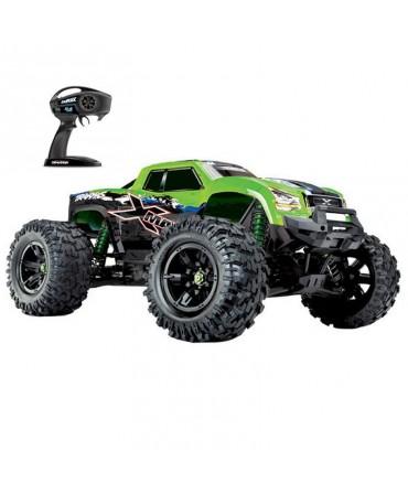 X-MAXX 8S 1/5 4WD BRUSHLESS WIRELESS ID TSM TRAXXAS 77086-4-GRNX