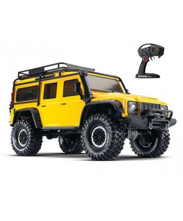 TRX-4 LAND ROVER DEFENDER JAUNE 1/10 4WD WIRELESS ID TRAXXAS 82056-4-YLW