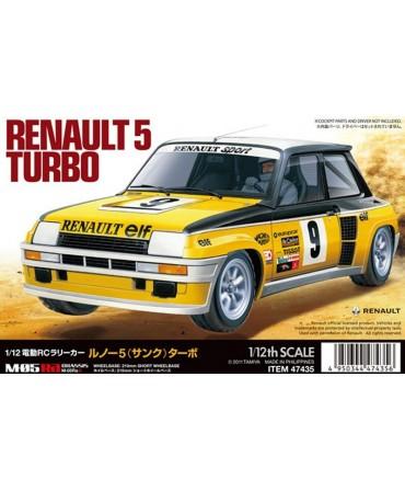 RENAULT 5 TURBO RALLY 1/10 2WD A CONSTRUIRE