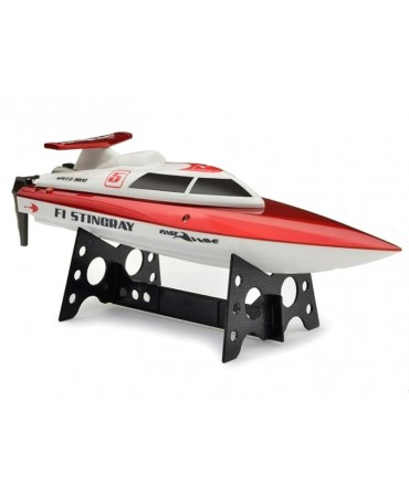 Bateau Fast Wave F1 STINGRAY Racing Boat rouge RTR 350MM