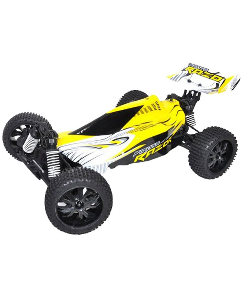 Buggy T2M PIRATE RAZOR 1/10 4WD 2,4Ghz RTR BRUSHLESS JAUNE