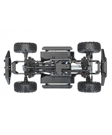 CRAWLER TRX-4 (COMBO MODELISME-SHOP) - TRAXXAS TRX82056-4-BLEU