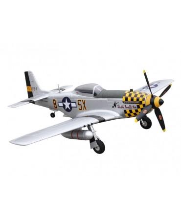 P-51D MUSTANG 750MM PNP JAUNE