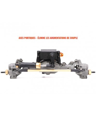 CRAWLER LANDCRUISER PICK-UP BLEU 1/10 4WD 2,4Ghz RTR