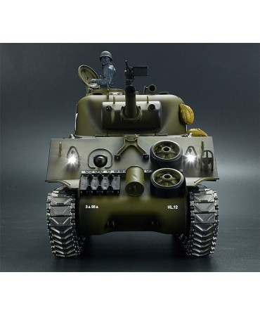 CHAR SHERMAN M4A3 AMERICAIN RC 1/16 COMPLET (BRUIT / FUMEE) 2,4Ghz