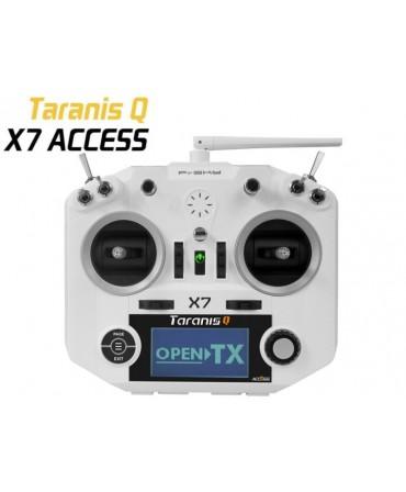 Radiocommande FrSky Taranis Q X7 ACCESS blanche 2,4Ghz MODE2 VERSION EU LBT