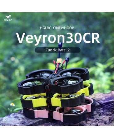 HGLRC VEYRON30CR 3 pouces 140mm 6S FrSky R-XSR CADDX Ratel 2 Analog BNF