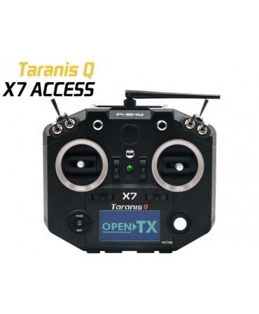 Radiocommande FrSky Taranis Q X7 ACCESS noire 2,4Ghz MODE1 VERSION EU LBT
