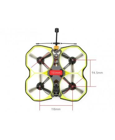 iFlight ProTeK35 3,5 pouces 151mm 4S FrSky R-XSR RaceCam R1 Analog BNF