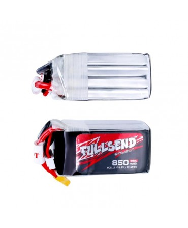 FULLSEND 4S 850mAh 95C LiPo Batterie - XT30H pour FPV Racing RC Drone LB07441-XT30H