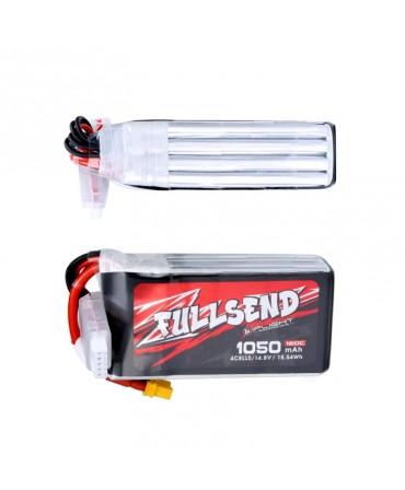 FULLSEND 4S 1050mAh 120C LiPo Batterie - XT30H pour FPV Racing RC Drone F008912