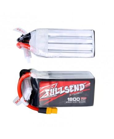 FULLSEND 4S 1800mAh 120C LiPo Batterie - XT60 pour FPV Racing RC Drone F008910