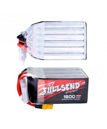 FULLSEND 6S 1800mAh 120C LiPo batterie - XT60H pour FPV Racing RC Drone F008394