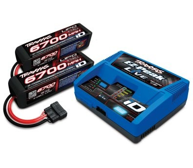 Packs chargeurs TRAXXAS